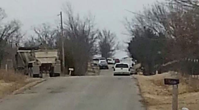 Hulbert Standoff Ends In Arrest Of Man For Arson, Firing Gun