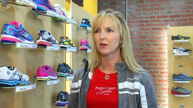 Tulsa Mother, Runner Hasn't Let Heart Problems Slow Her Down