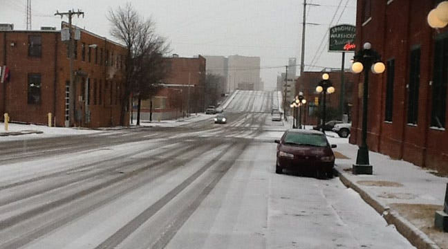 Oklahoma Highway Patrol Reports Road Conditions, Urges Caution
