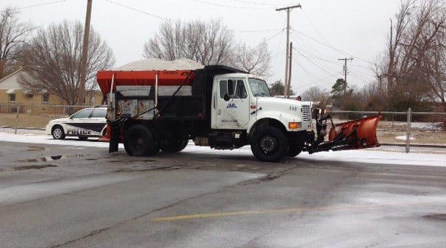 Snow Tapering Off Across Northeastern Oklahoma