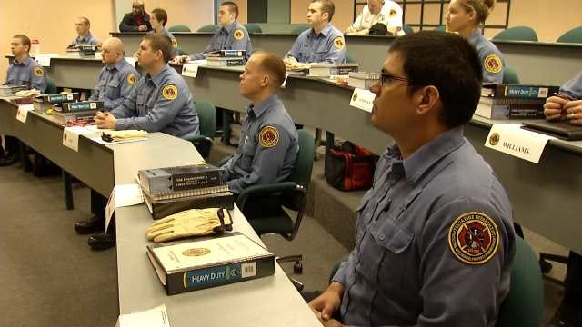Tulsa Fire Department Training 12 New Recruits