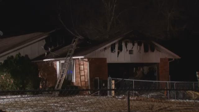 Verdigris Home Badly Damaged By Overnight Fire