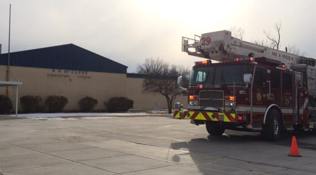 Tulsa Fire Department Responds To Natural Gas Odor At Elementary School