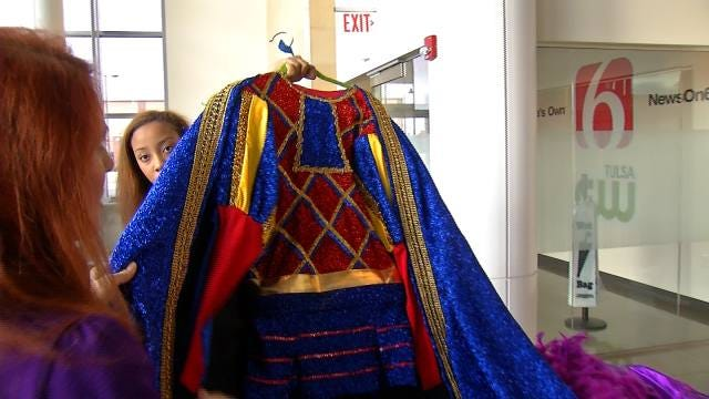 Tulsa Woman Creates 100-Plus Costumes For High School Play