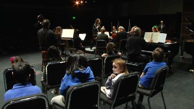 Elementary Student's Poems Read In Tulsa Symphony Performance
