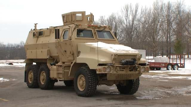Armored Vehicle Extends Cherokee Nation's Reach In Emergencies