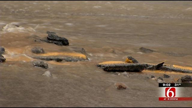 City Crews Finishing Up Water Line Break Repairs