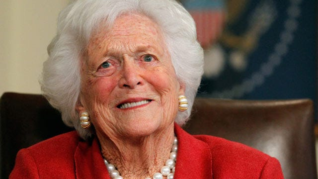 Barbara Bush Hospitalized For Respiratory Problems