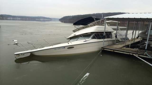 Winter Weather Cause For Tulsa Man's Boat Sinking In Grand Lake