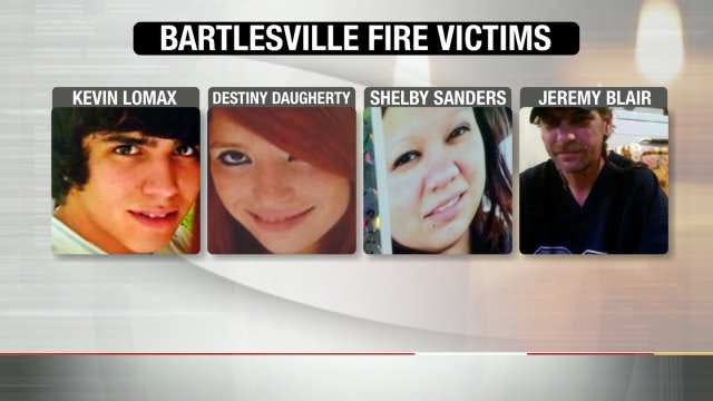 Community Rallies Around Families Of Bartlesville Fire Victims