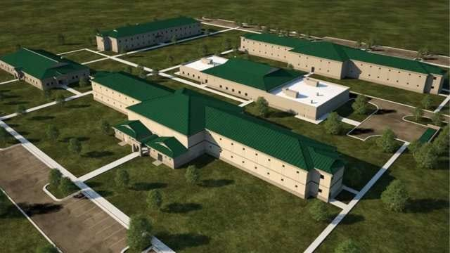 New Complex Under Construction For Camp Gruber Warriors