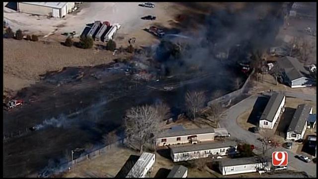 Forestry Service Warns Oklahomans Of High Fire Danger