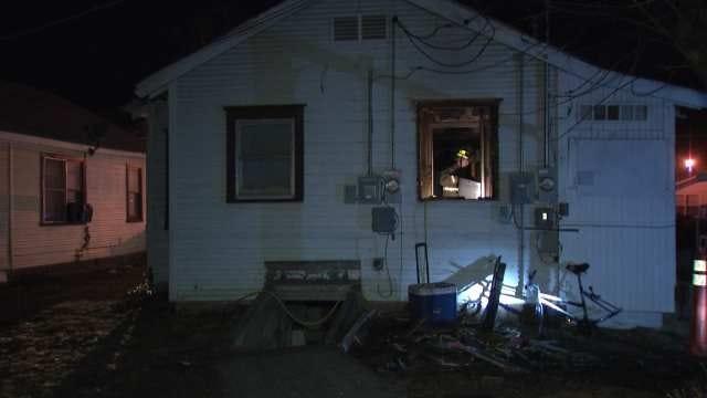 Police Called To Investigate West Tulsa Duplex Fire