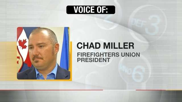 Tulsa Firefighters Union Wants Restraining Order Against City
