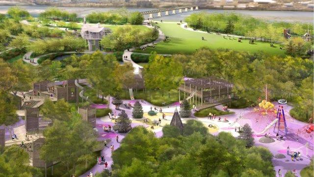 Chapman Foundations Pledge $10 Million To Tulsa's 'A Gathering Place' Park