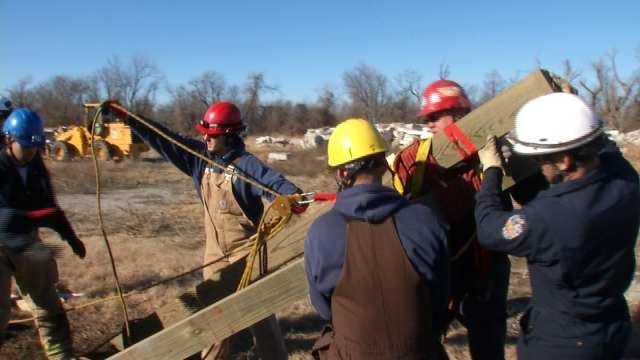 Tulsa Firefighters Take Part In Disaster Training