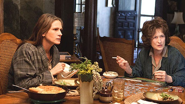 Two Oscar Nominations For 'August: Osage County'
