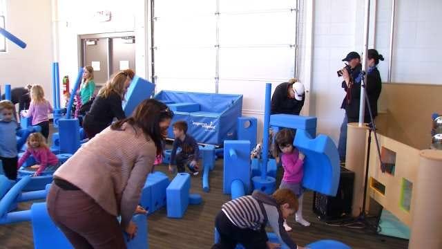 Kids Encouraged To Be Creative At Tulsa's Imagination Playground