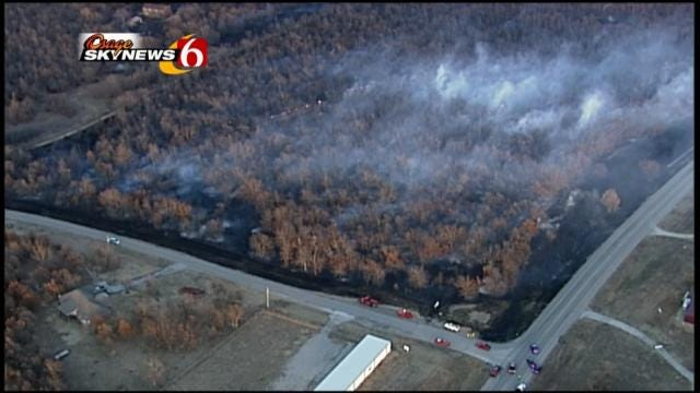 Oklahoma 'High And Dry,' Under Wildfire Warnings