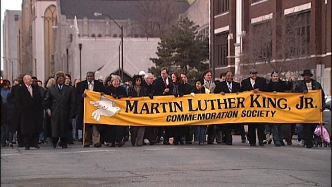 Walk In Peace To Remember Martin Luther King Jr. In Tulsa
