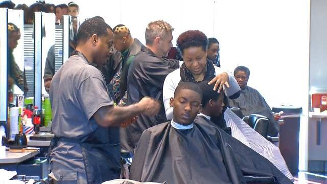 Oklahoma College Offers Back To School Hair Cuts