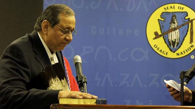Decision Expected Tuesday In Trial Of Osage Nation Chief