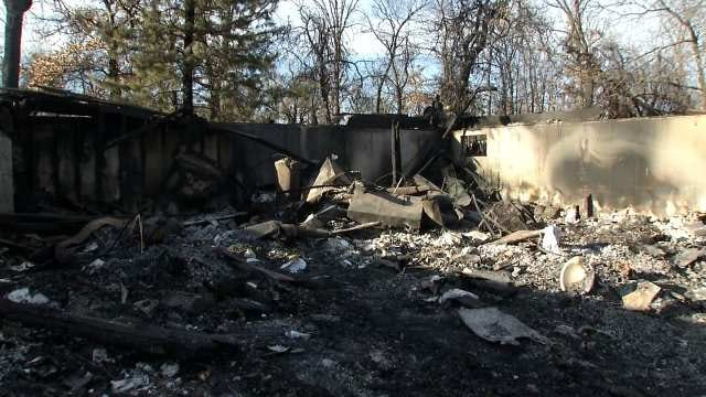 Victims Of Skiatook Fire Talk About Losing Home