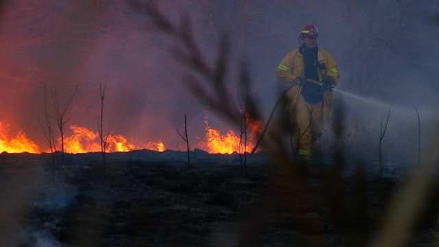 Firefighters On High Alert After Oklahoma Counties Issue Burn Bans