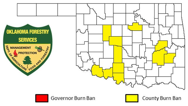 More Oklahoma Counties Issue Burn Bans