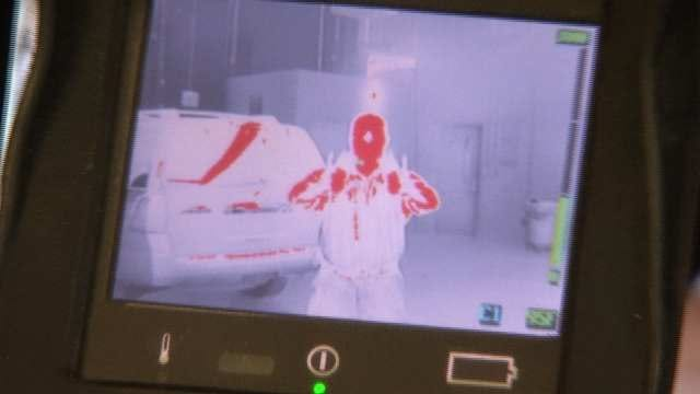 BA Firefighters Use Thermal Cameras Showing How To Dress Warm