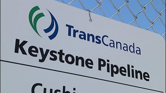 Oil Flowing From Cushing To Houston In Keystone XL Pipeline