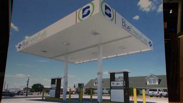 Oklahoma Tribe Sees Compressed Natural Gas As 'Fuel Of The Future'