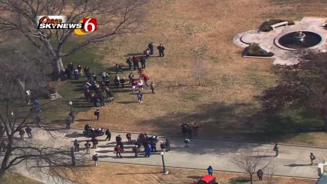 Police Quick To Respond To A Report Of Gunshots On OU Campus