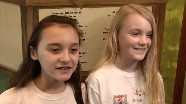 Two Tulsa Students Donate Profits To Food Bank