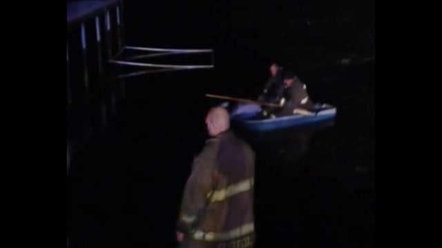 Glenpool Fire Rescues Dog From Cold Water