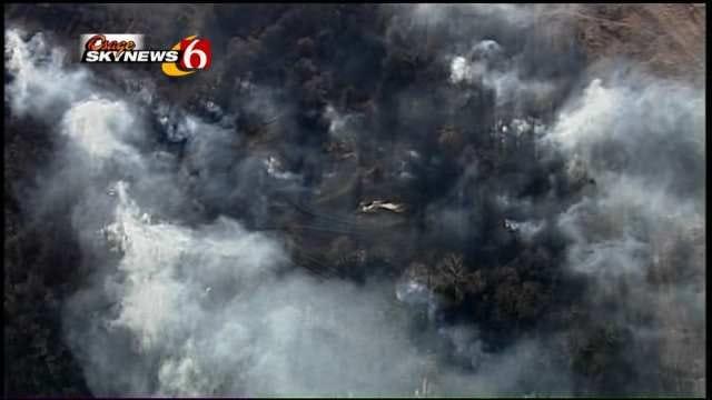 Crews Battle Fires All Over Oklahoma