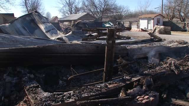 Heat Sources Sparking More Fires As Cold Grips Oklahoma, Official Says