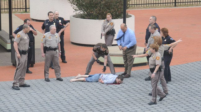 Jury Reaches Decision On Courthouse Plaza Shooting Trial