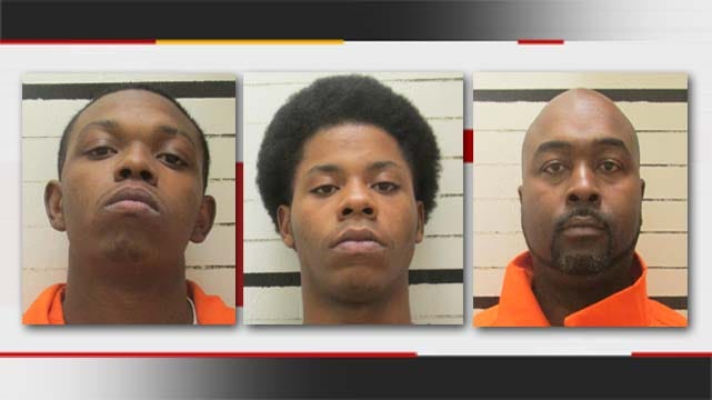 Muskogee Police Arrest 3 Robbery Suspects After Chase, Crash