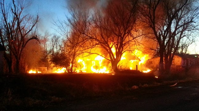 Sapulpa Firefighters Stop House Fire From Spreading To Neighborhood