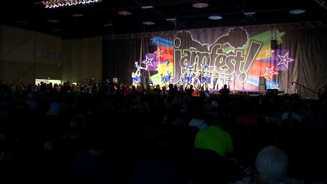 Jamfest Stages Cheer, Dance Competition In Tulsa