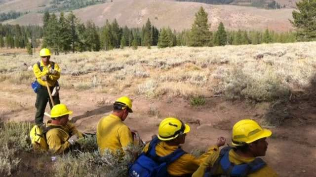 Cherokee Fire Dancers On Standby For Oklahoma Grass Fires