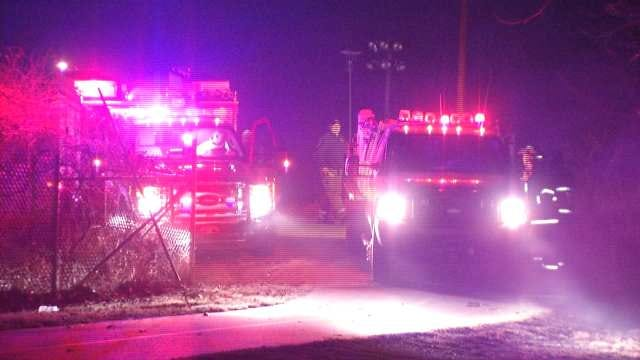 Investigation Continues Into Cause Of West Tulsa Brush Fire