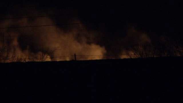 Mayes, Rogers County Firefighters Extinguish Several Grass Fires