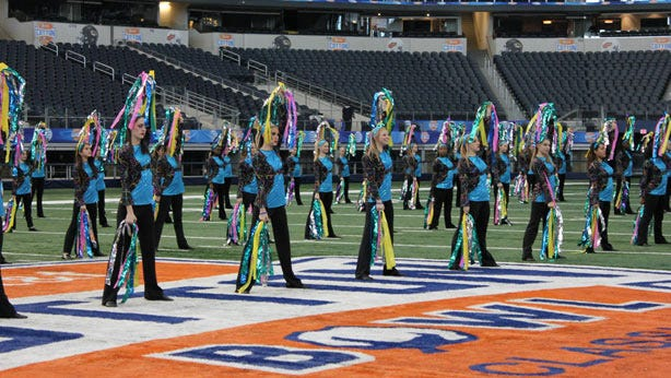 Bixby Spartan Dance Team To Perform At Cotton Bowl