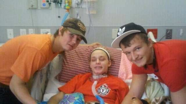 Recovery Looking Hopeful For Teen Injured In Crash With Adair School Bus