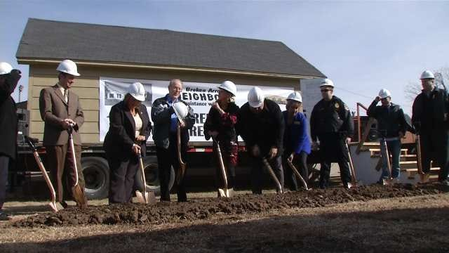 Ground Broken For Broken Arrow Organization's New Building