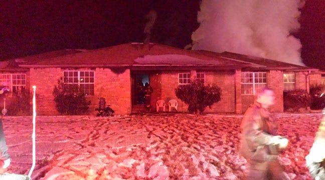 Elderly Woman Dies In North Tulsa House Fire