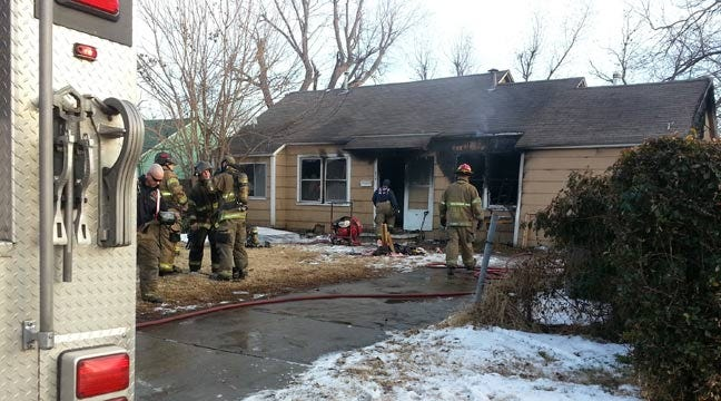 Firefighters Called To North Tulsa House Fire