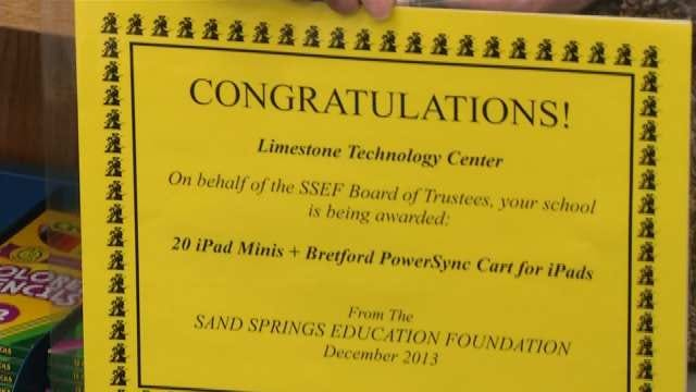 Five Sand Springs Schools Receive 20 iPad Minis Each